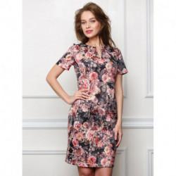 Платье 40372 Ассоль-9 Цветы Valentina
