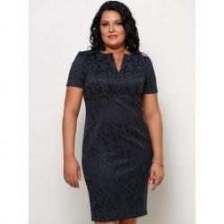 Платье 40916 Ассоль-15 Жаккард Valentina