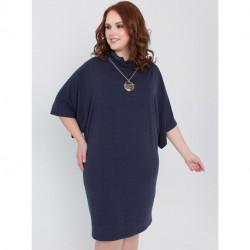 Платье Леся синий Olga Peltek