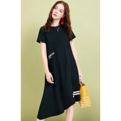 Платье повседневное с буквами ZA15291X